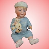 Large and Wonderful Kammer & Reinhardt 126 Character Baby w/ Flirty Eyes