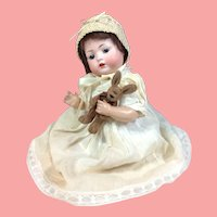 """Adorable 11 1/2"""" Bahr and Proschild 678 Character Baby on Original Stamped Body End of Summer Sale!"""