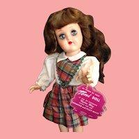 Near Mint All Original Toni Doll Brown/Auburn Hair Dark Makeup with Box