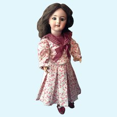 """Beautiful 20"""" French Bisque DEP Doll End of Summer Sale!"""