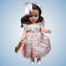 Vintage Nancy Ann Storybook Doll First Day of School Tagged All Original