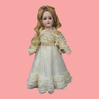 "17"" Simon & Halbig 1159 Lady Doll w/ Beautiful Costume"