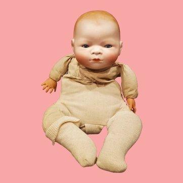 "13"" Antique German Bisque Bye-Lo Baby by Grace S. Putnum"
