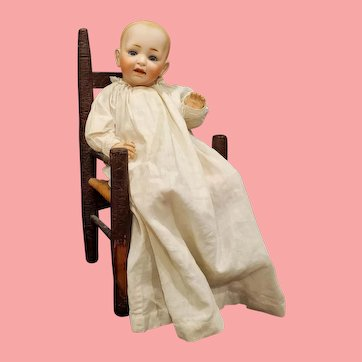 """Adorable 13"""" J.D.K. Solid Dome Character Baby Doll"""
