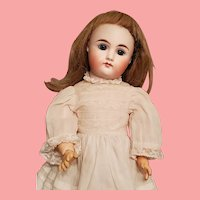 """GREAT Cabinet Size 13 1/2"""" Closed Mouth Kestner Child Doll"""