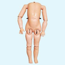 """16"""" Antique German Composition Doll Body"""