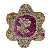 Iroquois Whimsey Beaded Star Pillow Circa 1900