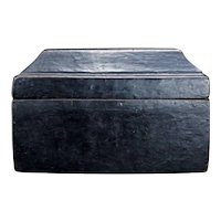 Tibetan or Nepalese Lacquer Wood Box 19th Century