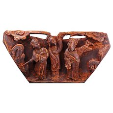 Chinese wood carving/architectural piece circa 19th century