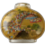 Large Chinese Republic Era Reverse Painted Glass Snuff Bottle