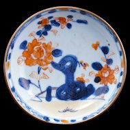 Kangxi period Chinese Imari porcelain saucer circa early 18th century
