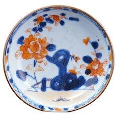 Kangxi period Chinese Imari porcelain saucer circa early 18th century