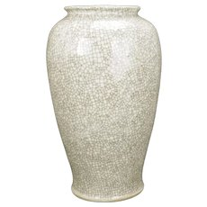 Large Chinese Crackle Ware Vase 19th Century