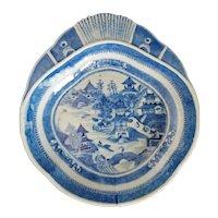 Chinese Nanking Shrimp Dish 18th/19th Century