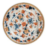 Chinese Imari Floral Plate Kangxi Period Late 17th/Early 18th Century