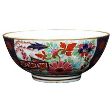 English Barr, Flight & Barr Rich Imari Pattern Worcester Slop c 1812