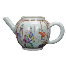 Chinese Polychrome Teapot Early 18th Century