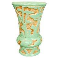 "Vintage Beswick ware made in England pale green ""Modelle"" Range large vase circa 1936"