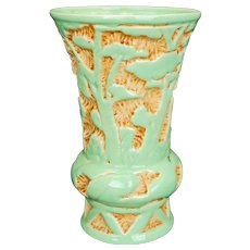 "Vintage Beswick ware made in England pale green ""Modelle"" Range large vase circa 1936"