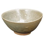 Korean Celadon Large Bowl Koryo Dynasty 10th to 14th Century