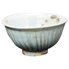 Ancient Korean Koryo Dynasty Celadon Ceramic Bowl 10th/14th Century