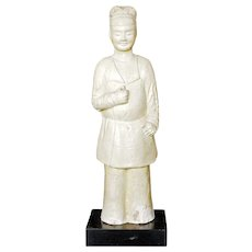 Ancient Sui or Tang Figure of an Official circa 600 to 907