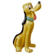 Midcentury Pluto Figurine Walt Disney Productions