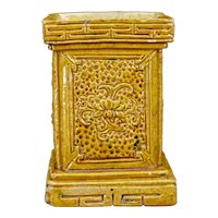 Chinese Ceramic Altar Piece or Vase Late Qing/Republic
