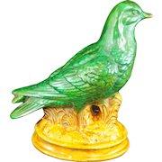 Victorian English Ceramic Pigeon 19th Century