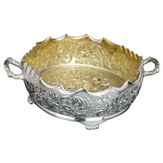 Renaissance Revival Silver Plate Fern Dish or Centerpiece by Pairpoint early 20th C