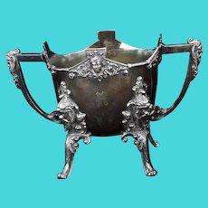 Victorian Middletown Renaissance Revival Silver Plate Slop circa 1860