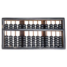 Chinese Vintage Wood Abacus early 20th century