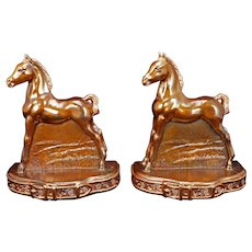 Pair of MCA Bookends of Colts/Horses circa 1940