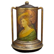 Art Nouveau English Ridgways Tea Tin Early 20th Century