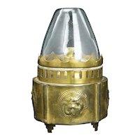 Chinese Republic Era (Hong Kong) Dragon Opium Lamp