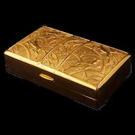 Elgin America art deco gilded Cosmetic Compact Carryall Circa 1930/40