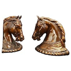 Dodge Horse Head bookends Gladys Brown 1946