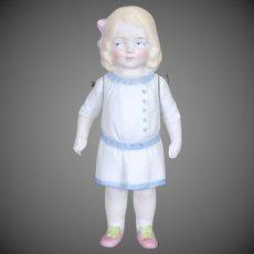 German All Bisque Child Doll