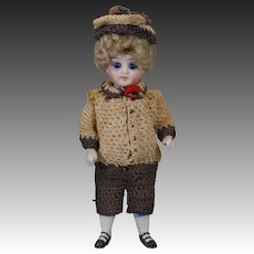 German All Bisque Doll for the French Market