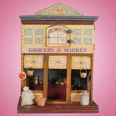 Grocery & Market Dollhouse