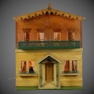 A Country Cottage from Silber & Fleming Doll House