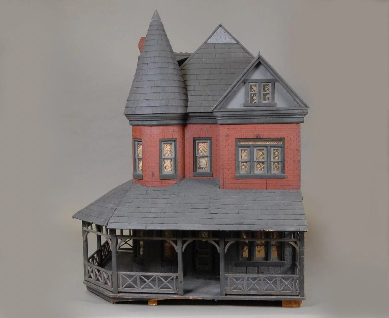 Queen Anne Style Mansion Dollhouse Carmel Doll Shop
