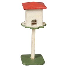 Red-roofed Dollhouse Birdhouse