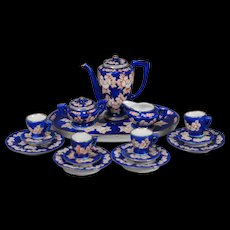 Porcelain Dollhouse Coffee Service