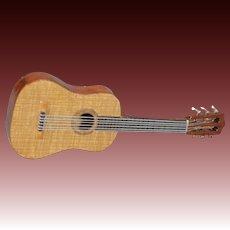 Miniature Wooden Guitar