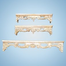 Three Bespaq Drapery Valances
