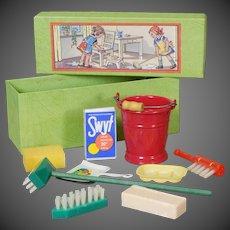 German Dolly Wash Set in Box
