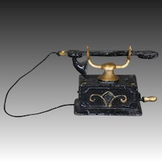Dollhouse Cradle Telephone