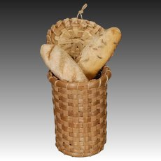 Dollhouse Bread Basket