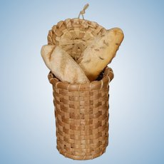 Dollhouse Bread Basket